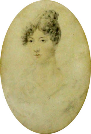 Caroline Wiggett, later Mrs Workman, aged 17