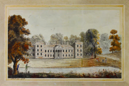 View of The Vyne, Hampshire, from the Lake, 1788