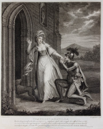 Theodore and Matilda from The Castle of Otranto by Horace Walpole