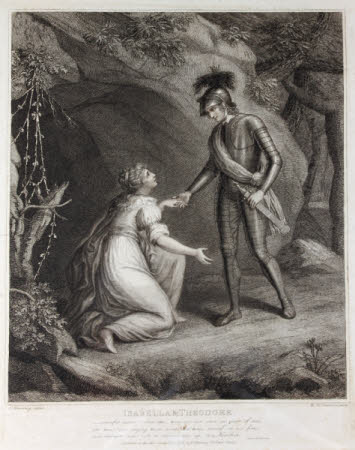 Isabella and Theodore from The Castle of Otranto by Horace Walpole