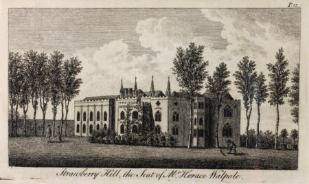 Strawberry Hill, The Seat of Horace Walpole.