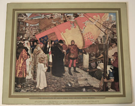 The departure of John Cabot and his son from Bristol