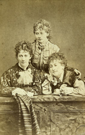 Three unknown women