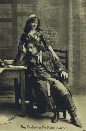 Angelita Helena Margarita de Silva Ferro (1868-1949) and Sir John Martin-Harvey (1863-1944)