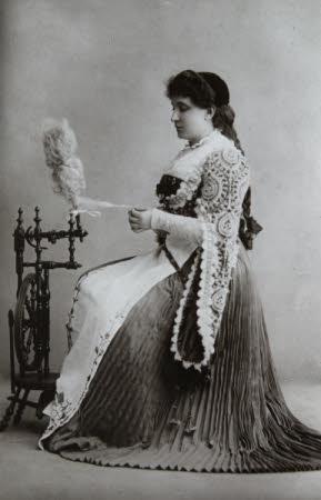 Dame Nellie Melba GBE (1861–1931).