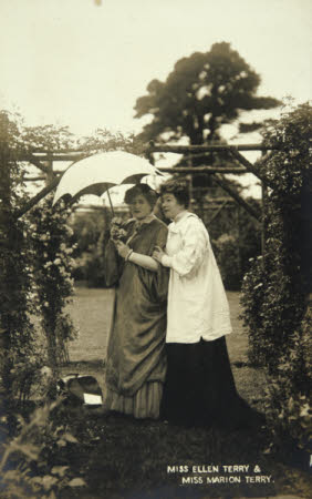 Dame Ellen Terry (1847-1928) and Miss Marion Terry (1853-1930)