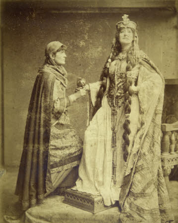 Dame Ellen Terry (1847-1928) as 'Lady Macbeth' in 'Macbeth' by William Shakespeare