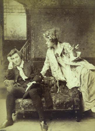 Dame Ellen Terry (1847-1928) and Edward Henry Gordon Craig (Stevenage 1872 - Vence 1966) in 'Nance ...