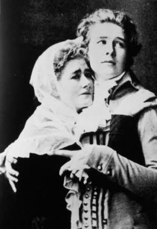 Dame Ellen Terry (1847-1928) and her son Edward Henry Gordon Craig (1872 - 1966)