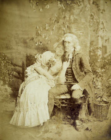 Dame Ellen Terry (1847-1928) and Henry Irving (1838 - 1905)