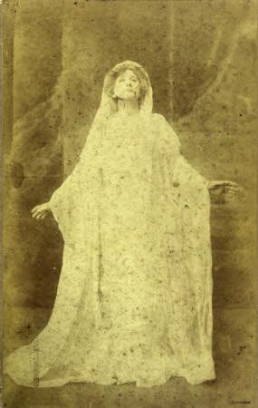 Dame Ellen Terry (1847-1928) 'as 'Hermione' in 'A Winter's Tale' by William Shakespeare