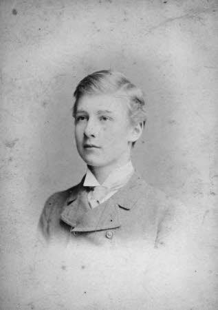 Edward Henry Gordon Craig (1872-1966) as a youth
