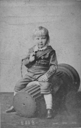 Young boy, possibly Edward Henry Gordon Craig (1872-1966)