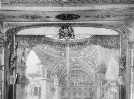 Interior of the Theatre Royal Bristol - proscenium arch from lower down