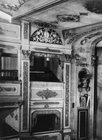 Interior of Theatre Royal Bristol - boxes and part of ceiling
