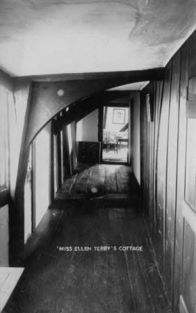 Smallhythe Place - the corridor leading to the bedroom