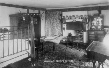 Smallhythe Place - view of bedroom