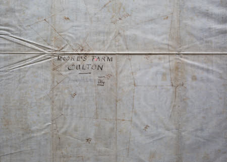 Map of Moore's Farm, Oulton, Cheshire: 1864