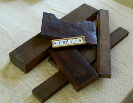 Piece of mahogany