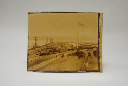 Photograph on card