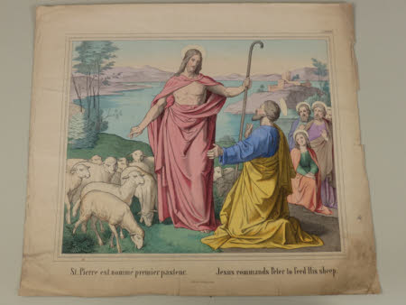 Jesus Commands Peter to feed His Sheep