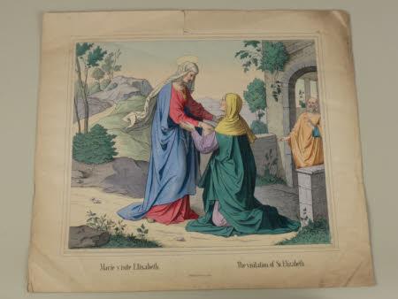 The Visitation:  St Elizabeth and Mary (after J. Heinemann)