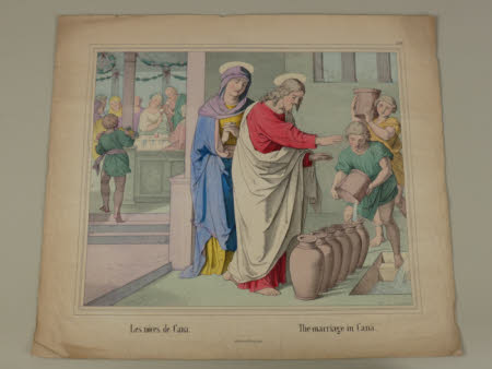 The Marriage in Cana (after J. Heinemann),
