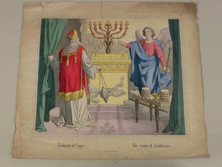 The Vision of Zacharias (after J. Heinemann)