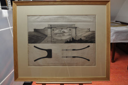 Design For A Bridge For The Garden At Croome