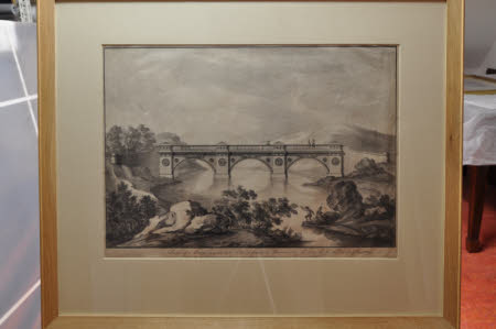 Ornate Design For A Bridge For The Garden At Croome