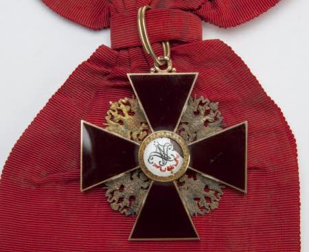 Grand Cross Order of Saint Alexander Newsky (1725)