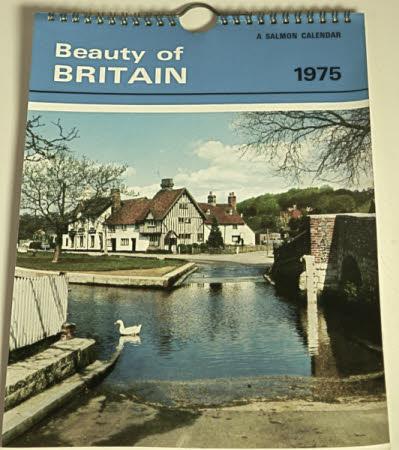Beauty of Britain Calendar 1975