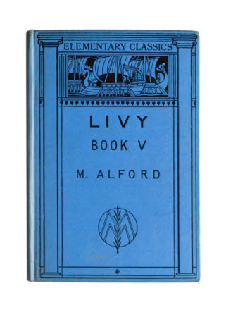 Livy. Book V. with notes and vocabulary by M. Alford. With illustrations.