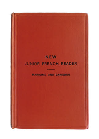 New junior French reader . edited by J.P.R. Marichal and L.J. Gardiner.