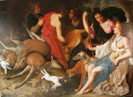 Diana with Nymphs