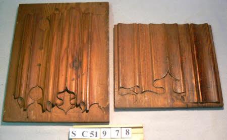 Sample carved panel