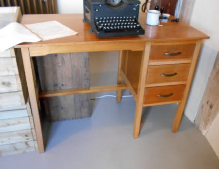 Kneehole desk