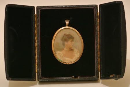 An unknown lady, possibly Ada Baddeley, Mrs Bambridge