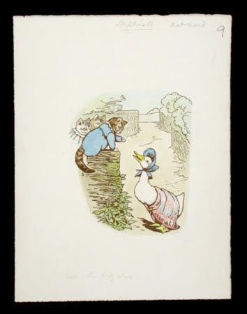 Tom Kitten's Painting Book