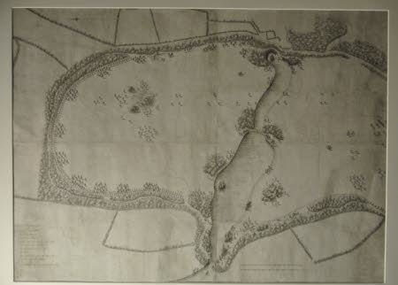 Design for the lakes and northern extension of the park at Wimpole, Cambridgeshire