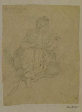 The Woman with the Tub, after Giulio Romano