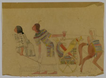An Egyptean Horse Coatch