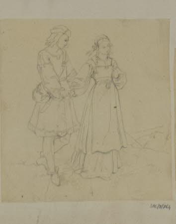 The Pre-Raphaelite Couple