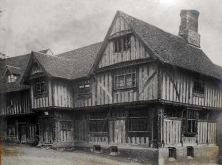 Lavenham Guildhall c.1922