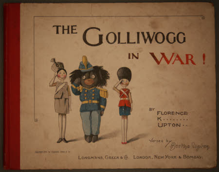 The Golliwogg in war!