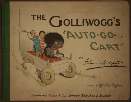 "The golliwogg's ""auto-go-cart"""