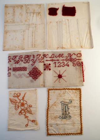 Examples of needlework