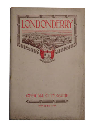 Londonderry . official city guide 1927-1928 edition.