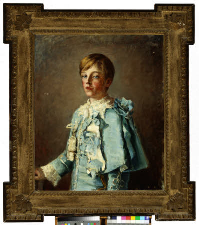 Charles Stewart, Viscount Castlereagh, later 7th Marquess of Londonderry (1878-1949), aged 10