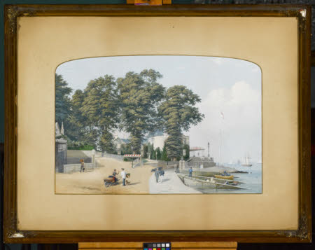 Coastal Scene (possibly Cowes)